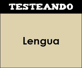 Lengua - Asignatura completa. 2º ESO (Testeando)