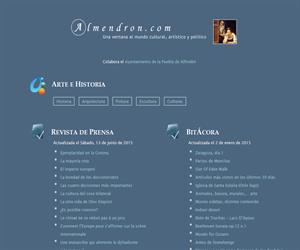 almendron.com: un portal educativo cultural, artístico y político