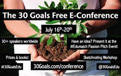 The 30 Goals Free E-Conference, Del 16 al 20 de Julio