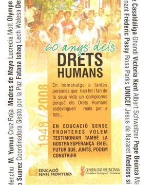 Exposición Derechos Humanos (en valencià)