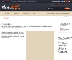 Galería Pitti (Educarchile)