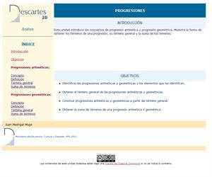 Progresiones (Descartes)