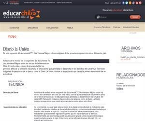 Diario la Unión (Educarchile)