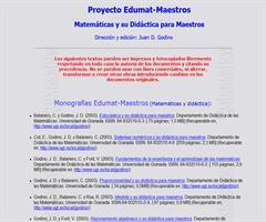 Matemática y su didáctica para maestros Juan Godino