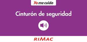 Cinturón de seguridad: audio (PerúEduca)