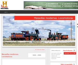 Maravillas modernas: locomotoras (Canal Historia)