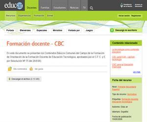 Formación docente - CBC (Argentina)
