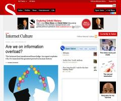 'Are we on information overload?' (salon.com)