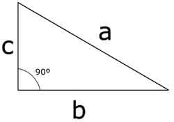 Teorema de Pitágoras - El triángulo rectángulo