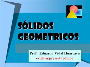 Sólidos geométricos (Educarchile)