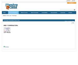 Web 1º Compensatoria  (Mestre a Casa)