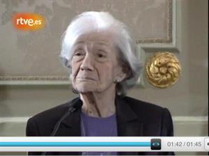 """Ana María Matute: """"¡Soy feliz, enormemente feliz!"""""""