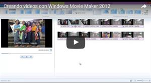 Creando vídeos con Movie Maker