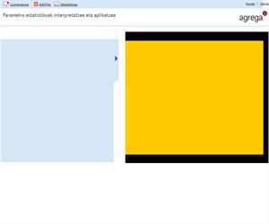 Parametro estatistikoak interpretatzea eta aplikatzea (Proyecto Agrega)