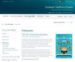 Publicaciones  TOP 100 - Innovaciones Educativas