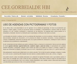 USO DE AGENDAS CON PICTOGRAMAS