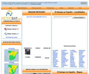 Meteosat, un recurso educativo complementario para las clases de Ciencias de la Tierra y del Medio Ambiente