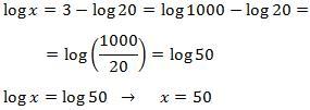 Ecuaciones logarítmicas y sistemas