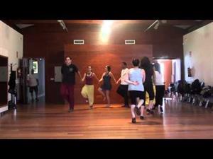 Tiszti-SirbaOficerasca, danza de Moldavia -Curso de Fernando Polanco Uyá, Maoño (Cantabria) 2012-