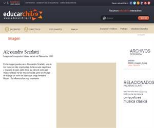 Alessandro Scarlatti (Educarchile)