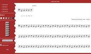 Aprende solfeo: lectura de notas musicales (score-on-line.com)