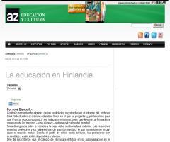 La educación en Finlandia | José Blanco