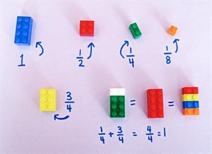 Using LEGO to Build Math Concepts (Scholastic)