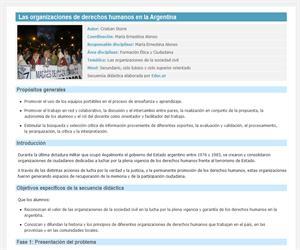 Las organizaciones de derechos humanos en la Argentina