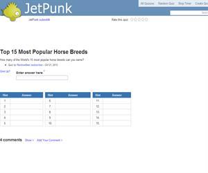 Top 15 Most Popular Horse Breeds