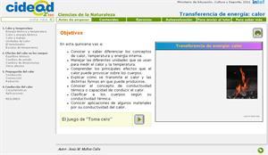 Transferencia de energía: calor (cidead)