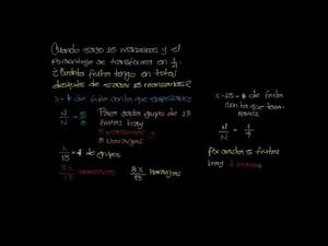 Problema Avanzado de Proporción con Álgebra (Khan Academy Español)