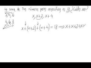 Problema de ecuaciones de primer grado (números)