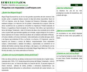 LosPorques.com, preguntas y respuestas frecuentes