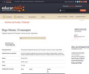 Hugo Montes. El mensajero (Educarchile)