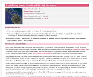 Google Earth y galerías de archivos KML / KMZ y terremotos