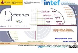 Proyecto Descartes: recursos educativos para matemáticas de Primaria, ESO y Bachillerato