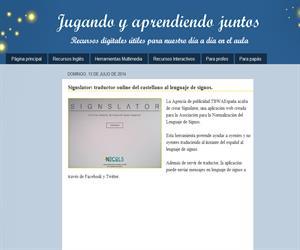 Signslator: traductor online del castellano al lenguaje de signos.