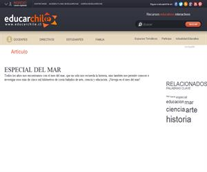 Especial del mar (Educarchile)