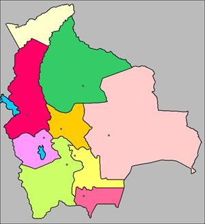 Mapa interactivo de Bolivia (luventicus.org)
