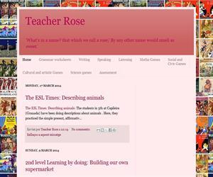 Teacher Rose