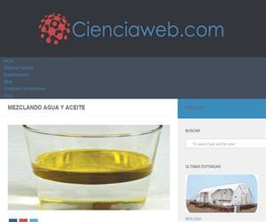 mezclar agua con aceite - experimento para niños