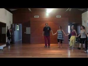 Stipsko, danza de Macedonia -Curso de Fernando Polanco Uyá, Maoño (Cantabria) 2012-