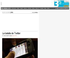 La batalla de Twitter (Antoni Gutiérrez-Rubí sobre el Debate Rubalcaba-Rajoy)
