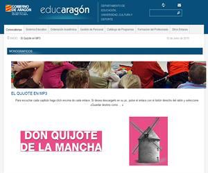 Audiolibro: Don Quijote de la Mancha (EducAragón)