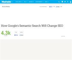 How Google's Semantic Search Will Change SEO
