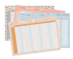 Plantillas de registro de asistencia