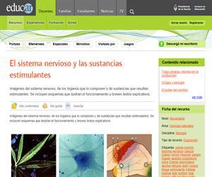 El sistema nervioso y las sustancias estimulantes