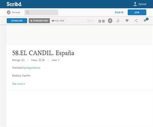 ElCandil, ficha de la danza de Badajoz, España