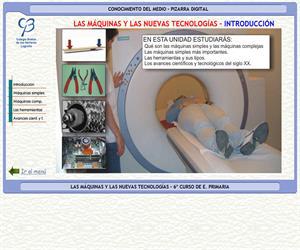 Las máquinas y las nuevas tecnologías – Conocimiento del medio – 3º Ciclo de E. Primaria – Unidad didáctica.