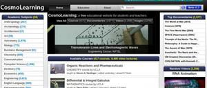 CosmoLearning: vídeos, documentales, libros electrónicos, ejercicios y mucho más